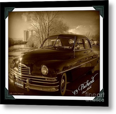 Packard Classic At Truckee River Metal Print by Bobbee Rickard