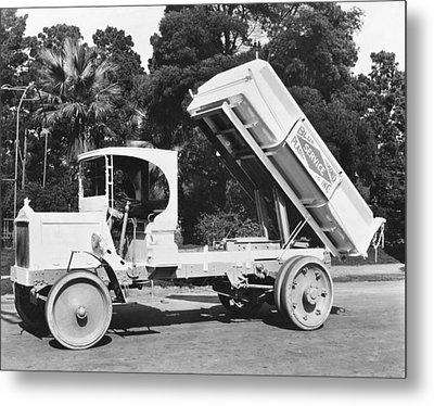 Packard Dump Truck Metal Print by Underwood Archives
