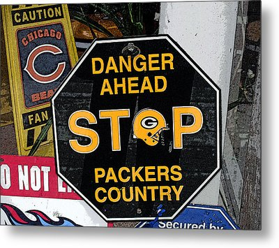 Packers Country Metal Print