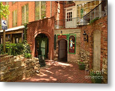 Paddys Hollow Restaurant And Pub Metal Print