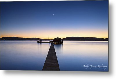 Paddys Oysters Metal Print by Steve Caldwell