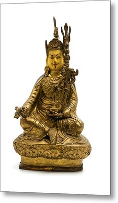 Metal Print featuring the photograph Padmasambhava by Fabrizio Troiani
