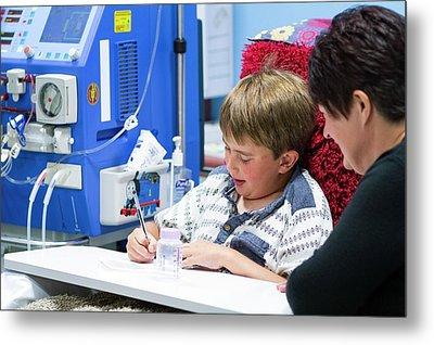 Paediatric Dialysis Department Metal Print
