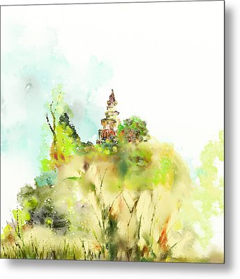 Pagoda Metal Print by Len YewHeng