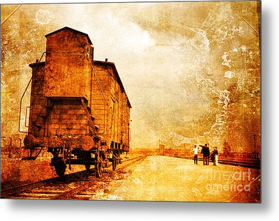 Painful Memories Metal Print by Randi Grace Nilsberg