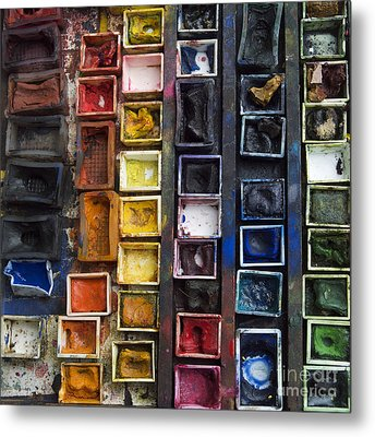 Paint Box Metal Print by Bernard Jaubert
