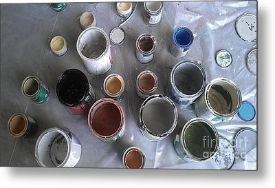 Paint Metal Print by Chris Tarpening