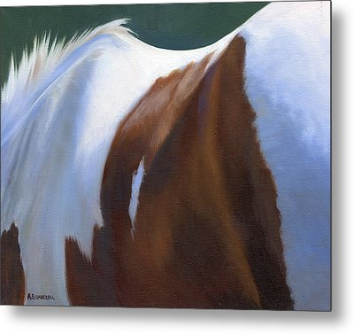 Metal Print featuring the painting Paint Landscape by Alecia Underhill