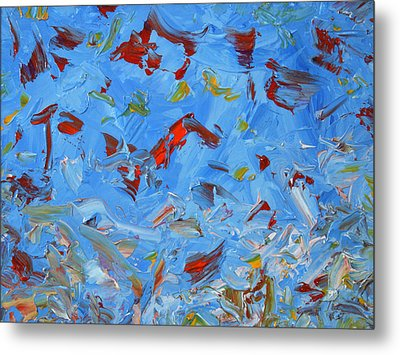 Paint Number 47 Metal Print by James W Johnson