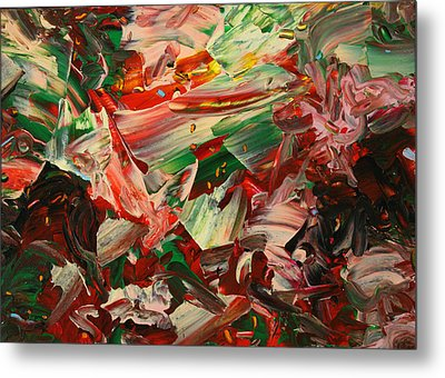 Paint Number 48 Metal Print by James W Johnson