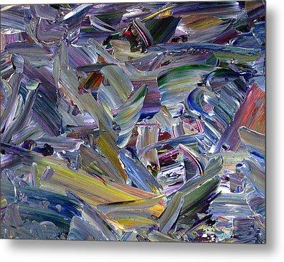 Paint Number 57 Metal Print