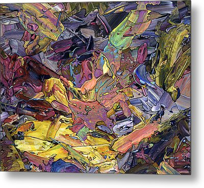 Paint Number 60 Metal Print by James W Johnson
