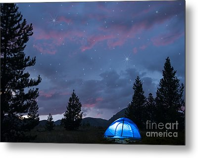Paint The Sky With Stars Metal Print by Juli Scalzi