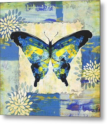 Paintbrush Butterfly I Metal Print by Paul Brent