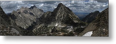 Paintbrush Divide Metal Print