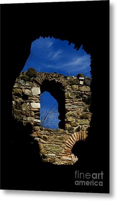 Painted Church Metal Print by Zafer GUDER