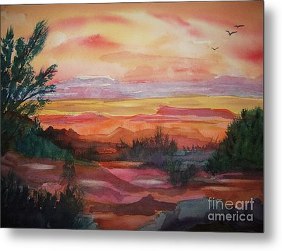 Painted Desert II Metal Print