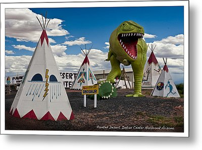Painted Desert Indian Center  Metal Print