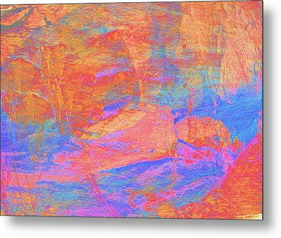 Painted Desert Metal Print by Stephanie Grant