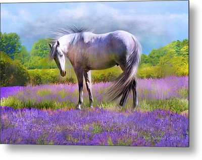 Painted For Lavender Metal Print