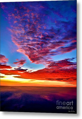 Painted Heavens Metal Print