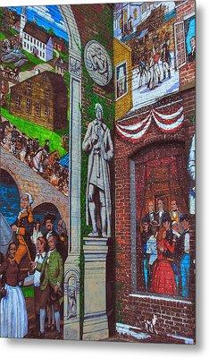 Painted History 1 Metal Print by Joann Vitali