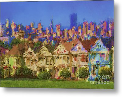 Painted Ladies Metal Print by Andrea Auletta