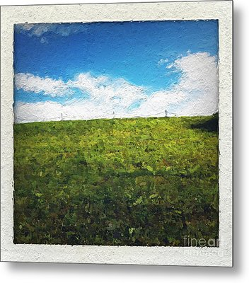 Painted Sky Metal Print by Linda Woods