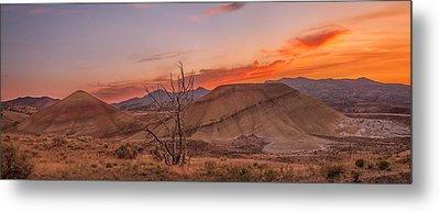 Painted Sunset Metal Print by Ryan Manuel