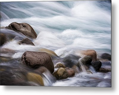 Metal Print featuring the photograph Painted Water by Brian Bonham