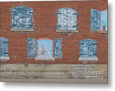 Painted Windows Metal Print by Kay Pickens