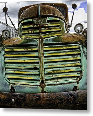 Painted With Rust Metal Print