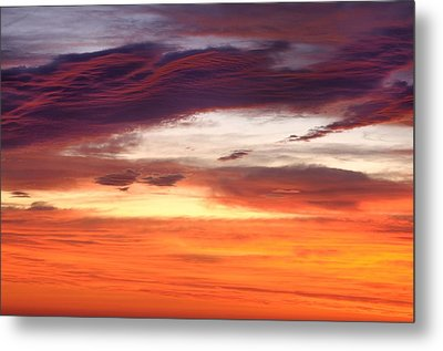 Metal Print featuring the photograph Painterly Sunrise On The Blue Ridge Parkway by Photography  By Sai