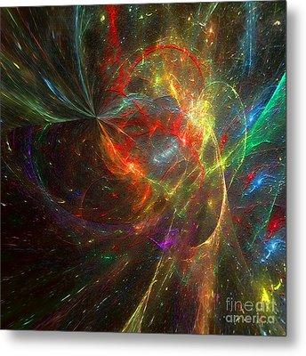 Painting The Heavens  Metal Print by Margie Chapman