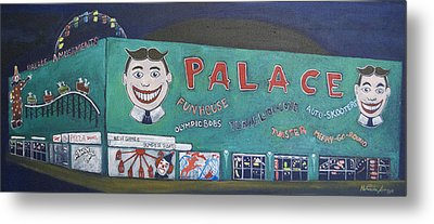 Palace 2013 Metal Print by Patricia Arroyo