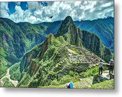 Palace In The Sky Metal Print