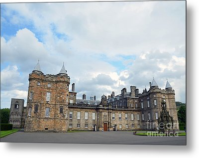 Palace Of Holyroodhouse Metal Print