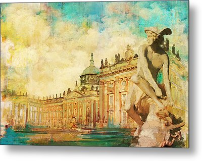 Palaces And Parks Of Potsdam And Berlin Metal Print by Catf
