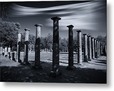 Metal Print featuring the photograph Palaestra At Olympia by Micah Goff