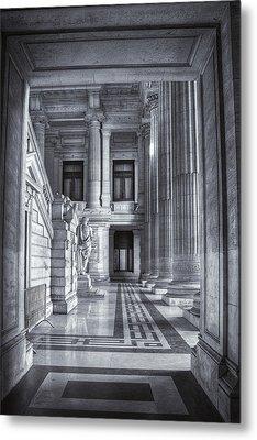 Palais De Justice Metal Print by Joan Carroll