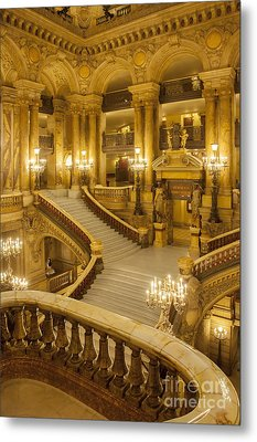 Palais Garnier Interior Metal Print by Brian Jannsen