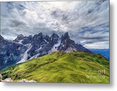 Metal Print featuring the photograph Pale San Martino - Hdr by Antonio Scarpi