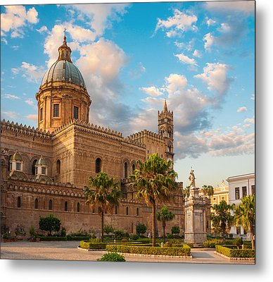 Palermo Cathedral Metal Print