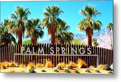 Palm Springs 1 Metal Print