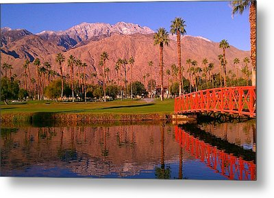 Palm Springs Metal Print by Chris Tarpening