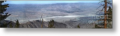 Palm Springs Panoramic View - 02 Metal Print by Gregory Dyer
