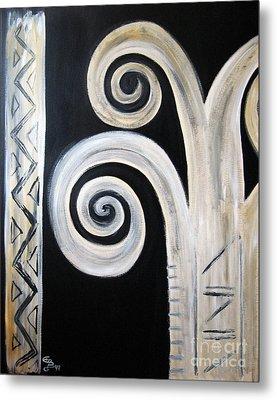 Palm Tree Metal Print by Eva-Maria Becker
