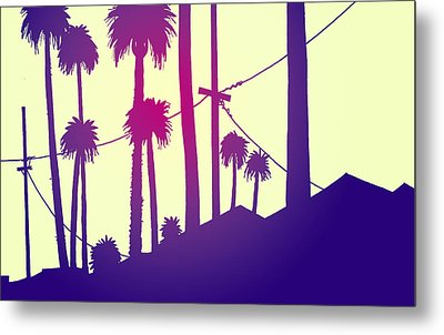 Palms 2 Metal Print by Giuseppe Cristiano