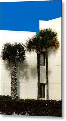 Palms Metal Print by Bruce Lennon