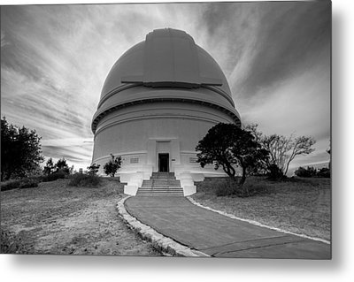 Metal Print featuring the photograph Palomar Observatory by Robert  Aycock